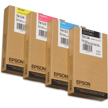 C13T612400 Epson Ultrachrome Yellow (220ml)