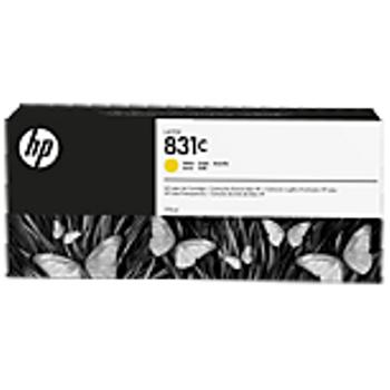 HP 831C 775 ml Sarý Lateks Mürekkep Kartuþu (CZ697A)
