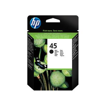 HP 45 Büyük Siyah Orijinal Mürekkep Kartuþu (51645AE)
