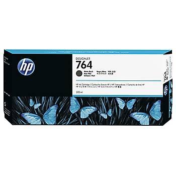 HP 764 300 ML Mat Siyah Mürekkep Kartuþ C1Q16A