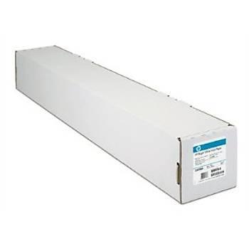 HP Clear Film C3876A 5.2mil  174 g/m²  24 in x 75 ft 62cm x22,9 mt  174 gr  göbek capý  2inç