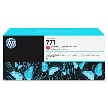 CE038A Hp Designjet Z6200 Hp 771 Cromatic Red 775ml (kýrmýzý)