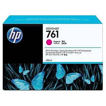 HP 761 400-ml Macenta Designjet Mürekkep Kartuþu CM993A