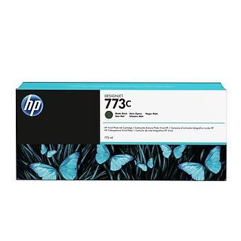 HP 773C 775 ml Mat Siyah Designjet Mürekkep Kartuşu C1Q37A