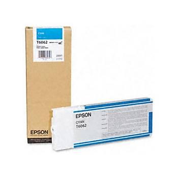 Epson T6062-C13T606200 Mavi Orjinal Kartuþ