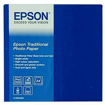 EPSON A4 Traditional Photo Paper, (25 sheets). C13S045050