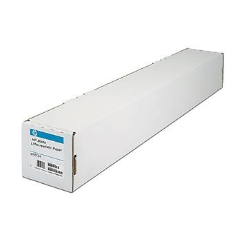 HP Matte Litho Realistic Paper 270gsm 36x 30.5m 914 mm x 30.5 m (36 in x 100 ft) (Q7973A)