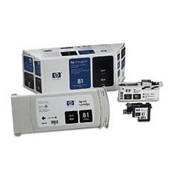 C4990A HP Designjet 5000-5500 Siyah Kartuþ+Kafa+Kafa Temizleyici (680ml)