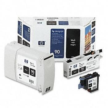 C5078A HP Designjet 4000-4500 Siyah Kartuþ+Kafa+Kafa Temizleyici