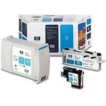 C5079A HP Designjet  4000-4500 Mavi Kartuþ+Kafa+Kafa Temizleyici (400ml)