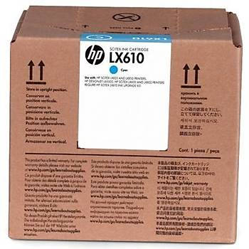HP CN670A LX610 MAVÝ LATEKS MÜREKKEP KARTUÞU L65500 / LX850