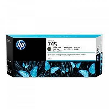 HP 745 300 ml DesignJet Mat Siyah Mürekkep Kartuþu (F9K05A)