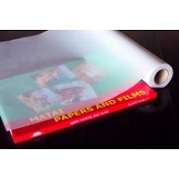 Mylar Transparan 1400mmx30mt Ýnkjet Polyester Film Kaðýt 160 Micron