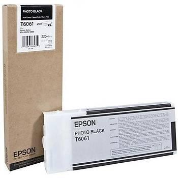Epson T6061-C13T606100 Foto Siyah Orjinal Kartuþ