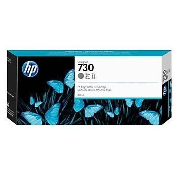 HP 730 300 ml Gri DesignJet Mürekkep Kartuþu(P2V72A)