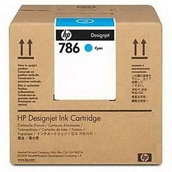HP 786 CC586A LX600 MAVÝ 3 Lt. Lateks KARTUÞ L65500 / LX800