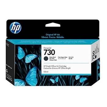 HP 730 130 ml Mat Siyah DesignJet Mürekkep Kartuþu(P2V65A)