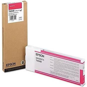 Epson T606B-C13T606B00 Kýrmýzý Orjinal Kartuþ