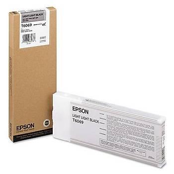 Epson T6069-C13T606900 Açýk Açýk Siyah Orjinal Kartuþ