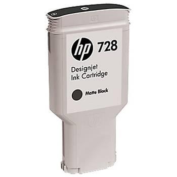 HP T830 728 300 Ml Matte Black Desingjet Ink Cartridge F9J68A