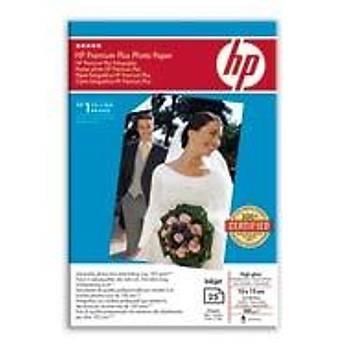 HP Premium Plus Ekstra Parlak Anlýk Görüntü Fotoðraf Kaðýdý  10 x 15 cm, 280 g/m², 25 yaprak