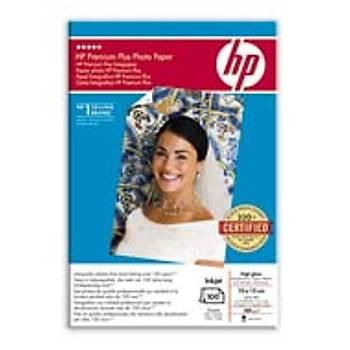 HP Premium Plus Ekstra Parlak Anlýk Görüntü Fotoðraf Kaðýdý 10 x 15 cm, 280 g/m², 100 yaprak