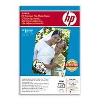 HP Premium Plus Yumuþak Parlak Anlýk Görüntü Fotoðraf Kaðýdý  10 x 15 cm, 280 g/m², 25 yaprak