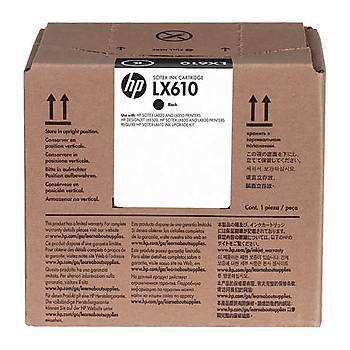 HP CN673A LX610 SÝYAH LATEKS MÜREKKEP KARTUÞU L65500 / LX850