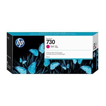 HP 730 300 ml Macenta DesignJet Mürekkep Kartuþu(P2V69A)