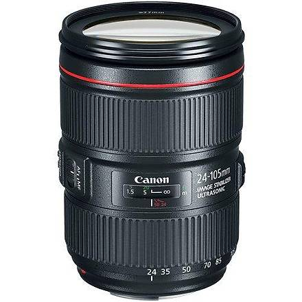 Canon EF 24-105mm f/4L IS II USM Lens Distribütör Garantili