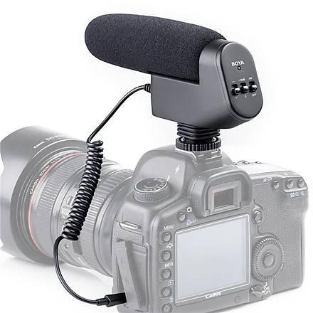 Boya BY-VM600 Kamera Prof. Shotgun Mikrofon