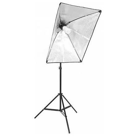 Hobimtek Softbox 50X70 Paraflaþ Sürekli Iþýk Light Stand Ayaklý Set