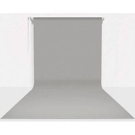 Stüdyo Teknik 270cm x 580cm Sonsuz Gri Fon Perdesi Seti