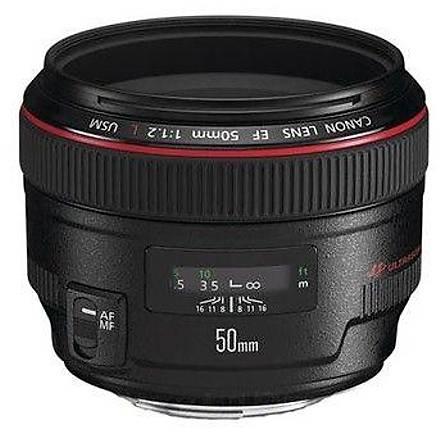 Canon EF 50mm f/1.2L USM Canon Eurasia Garantili