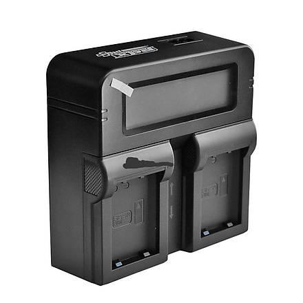 Sony F970 Ýkili Þarj Aleti PDX MC2500, MC2000 MC1500