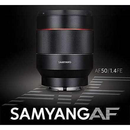 Samyang AF 50mm f/1.4 FE Lens (Sony E)