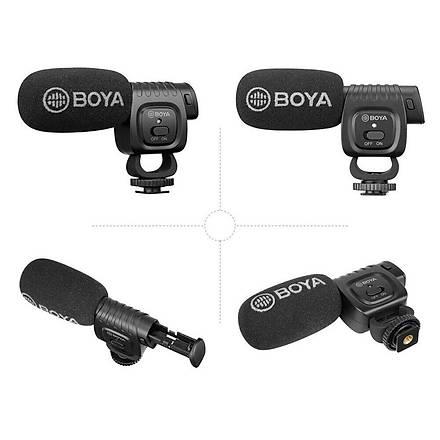 Boya BY-BM3011 DSLR Fotoðraf Makinesi ve Kamera Ýçin Tepe Mikrofo
