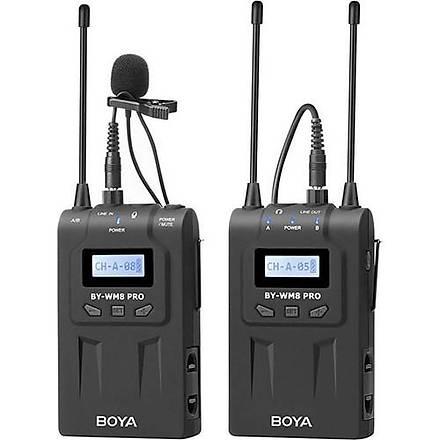 Boya By-Wm8 Pro Kit-1 Prof. Kablosuz Mikrofon