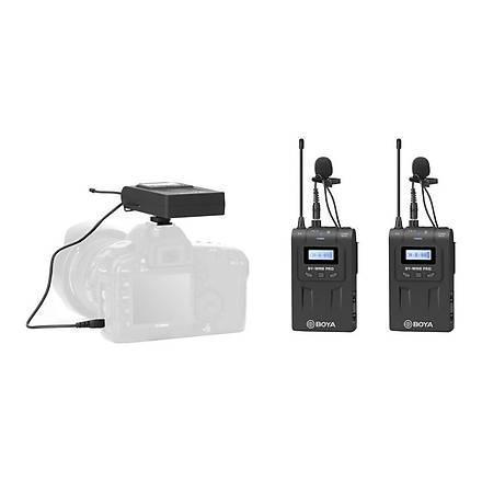 Boya By-Wm8 Pro Kit-2 Pro. Ikili Kablosuz Mikrofon