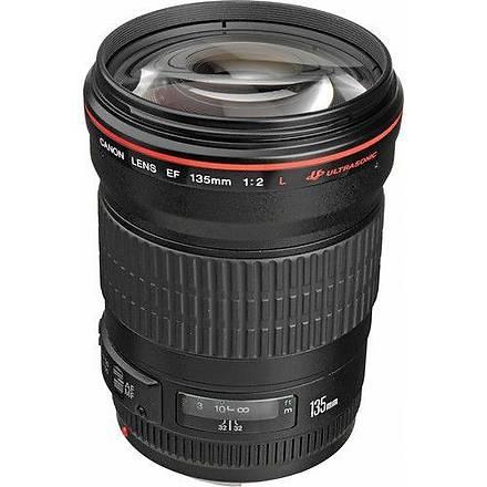 Canon EF 135mm f/2.0L USM Lens Distribütör Garantili