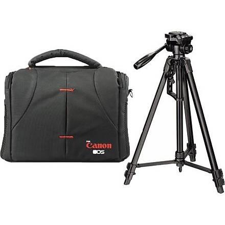 Canon 1200D Fotoðraf Makinesi Ýçin 170cm Tripod + Set Çanta