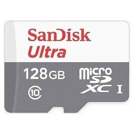 SanDisk Ultra® 128GB 80MB/s microSDHC?/microSDXC? UHS-I Hafýza Kartý SDSQUNS-128G-GN6MN