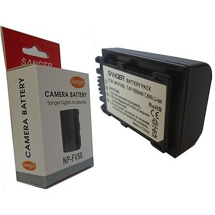Sanger Np-Fv50 Batarya, Sony Fv50 Kamera Bataryasý, Sony Np-Fv50 Kamera bataryasý