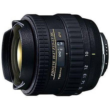Tokina 10-17mm f/3.5-4.5 AT-X DX (Canon) Balýkgözü Lens