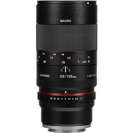 Samyang 100mm f/2.8 Macro Sony A Uyumlu Lens