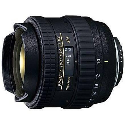 Tokina 10-17mm f/3.5-4.5 AT-X DX (Nikon) Balýkgözü Lens