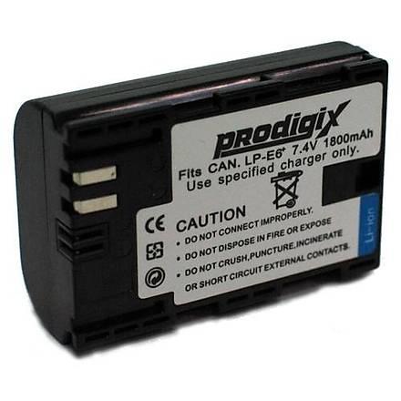 Prodigix Canon Lp-E6 Kamera Bataryasý