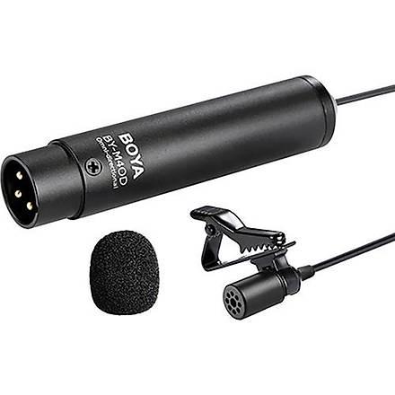 Boya BY-M4OD Çok Yönlü XLR Yaka Mikrofonu