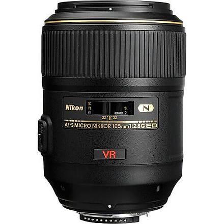 Nikon 105mm F/2.8G VR IF-ED Micro Lens Ýthalatcý Garantili