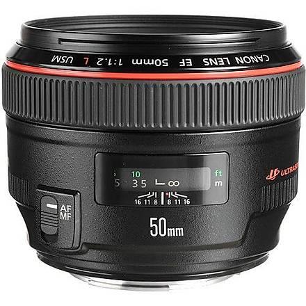 Canon EF 50mm F/1.2L USM Lens Ýthalatcý Garantili